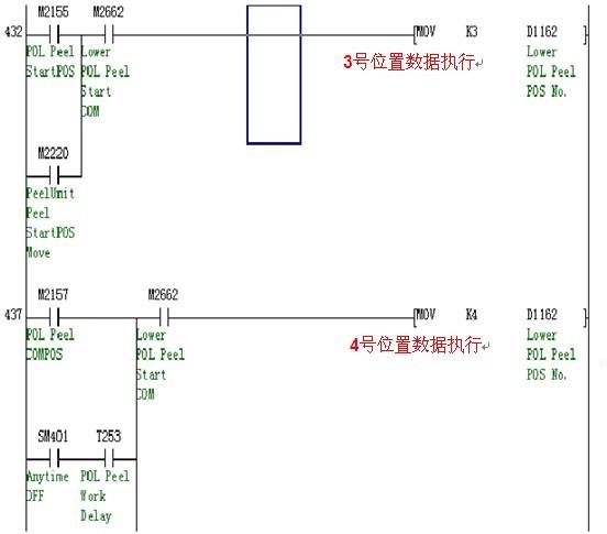 三菱伺服控制程序经典写法分析